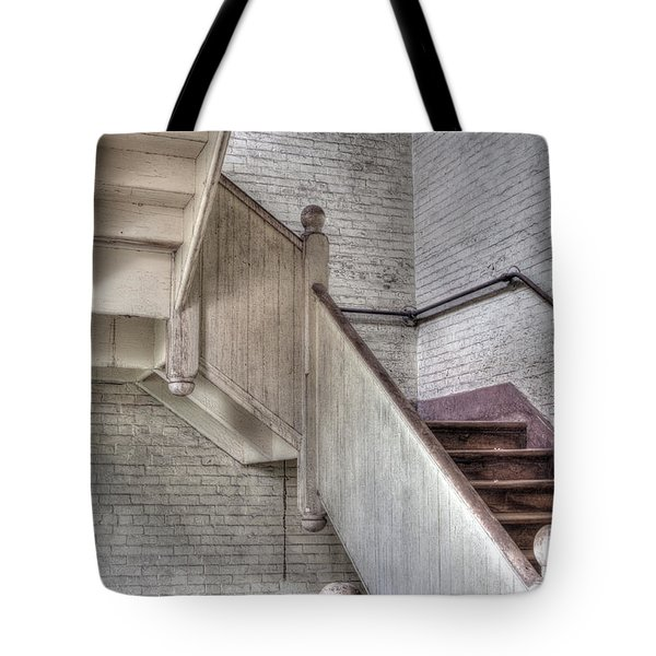 The Stairs Horizontal Tote Bag