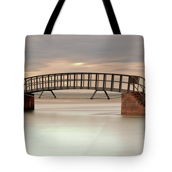Tote Bag featuring the photograph The Stairs by Maria Gaellman