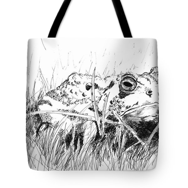 The Stalwart Old Toad Tote Bag