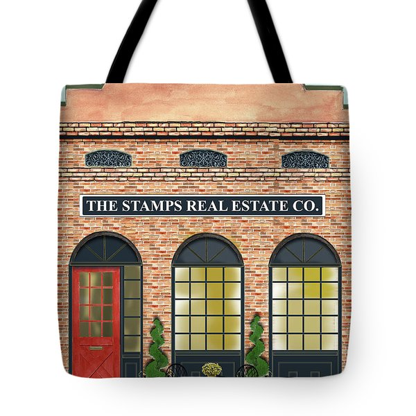 The Stamps Real Estate Co. Tote Bag