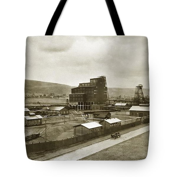 The Stanton Colliery Empire St. The Heights Wilkes Barre Pa Early 1900s Tote Bag
