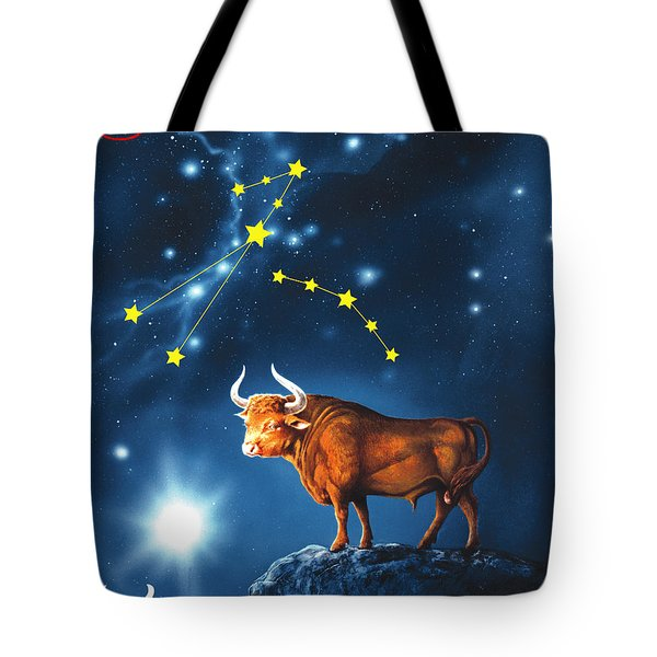 The Star Taurus Tote Bag