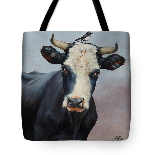 The Stare Tote Bag by Margaret Stockdale