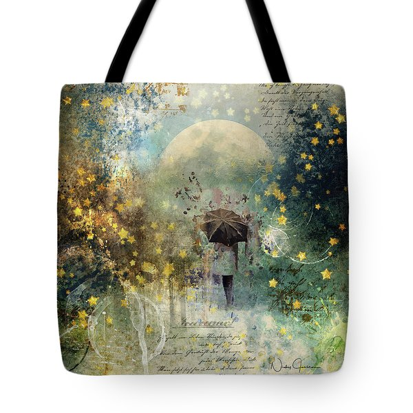 The Stars Fall Down Tote Bag
