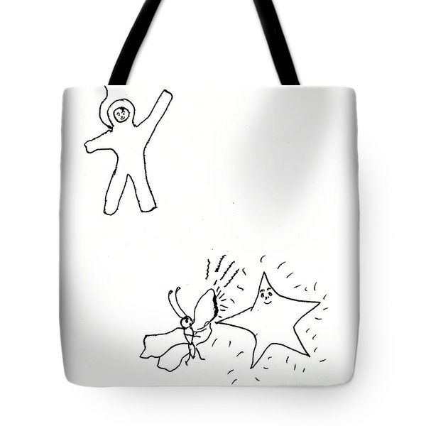 The Stars Were Hot Tote Bag