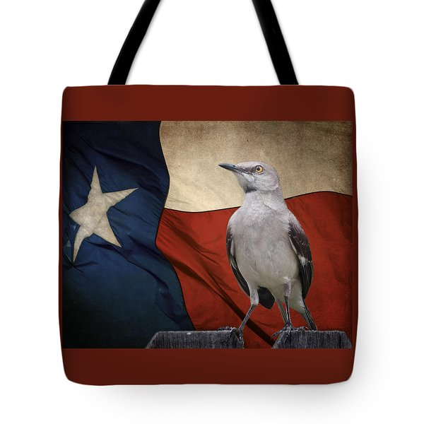 The State Bird Of Texas Tote Bag