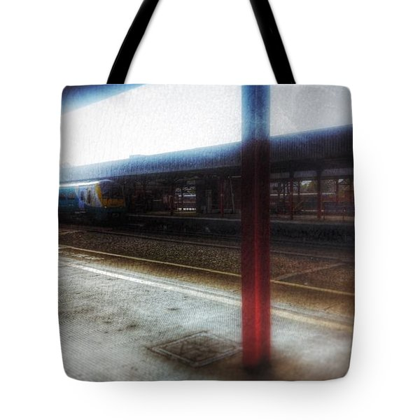Tote Bag featuring the photograph The Station by Isabella F Abbie Shores FRSA