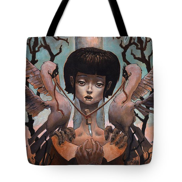 The Steady Heart  Tote Bag