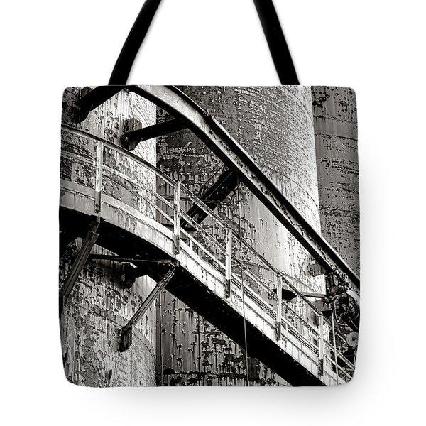 The Steel Citadel Tote Bag
