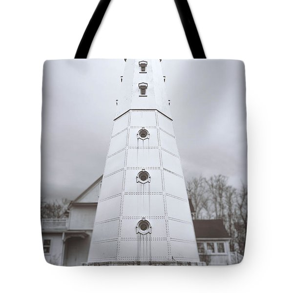 The Steel Tower Tote Bag