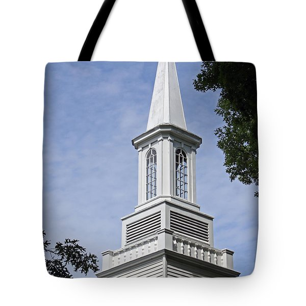 The Steeple Tote Bag