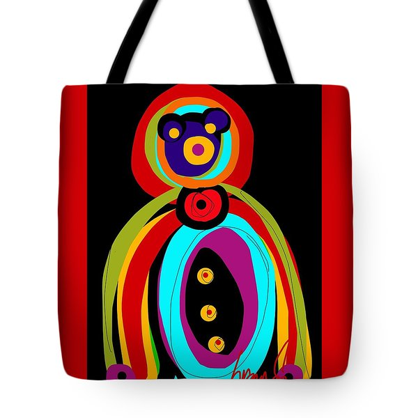 Mr. Teddy Bearitus Tote Bag