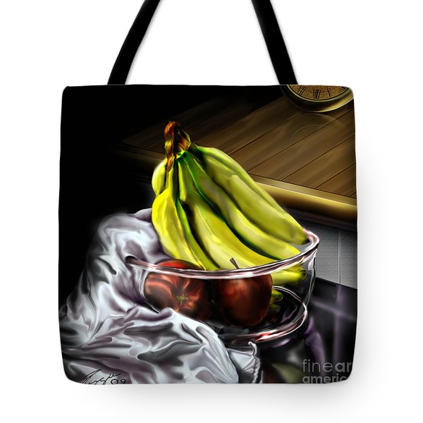The Still Of Peace Tote Bag by Reggie Duffie