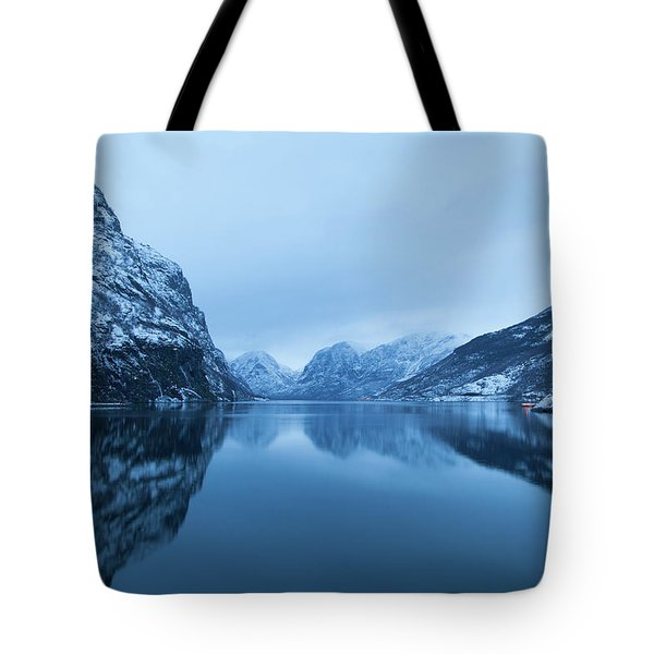 The Stillness Of The Sea Tote Bag