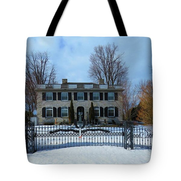 The Stone House Tote Bag