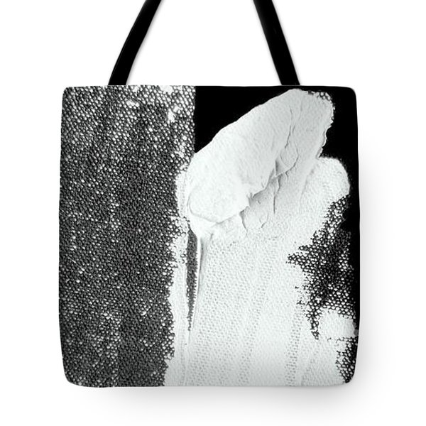 Tote Bag featuring the painting The Stone On The Bridge by VIVA Anderson
