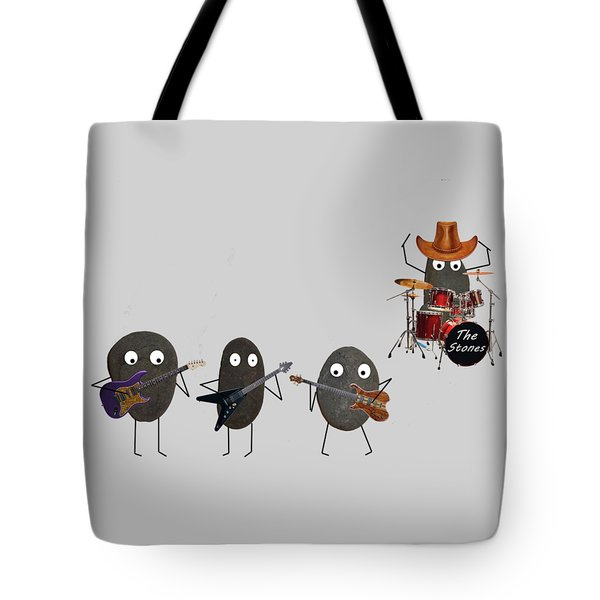 The Stones Tote Bag by David Dehner