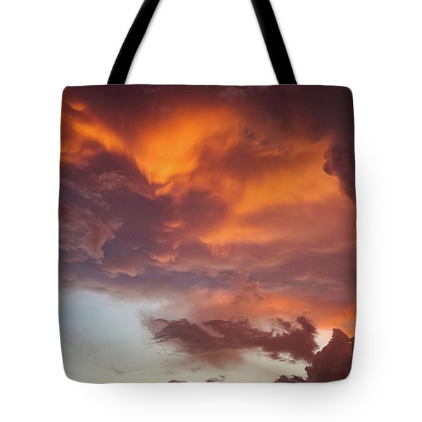The Storm Blower Tote Bag