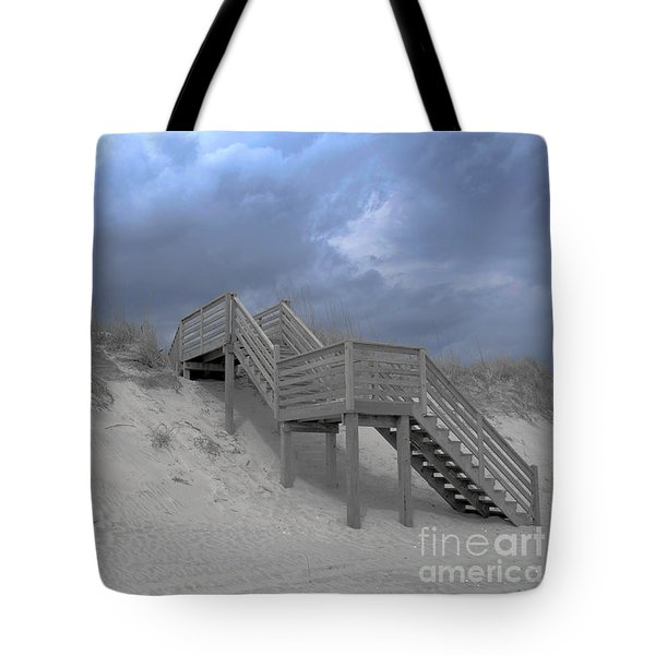 The Storm Is Here Tote Bag