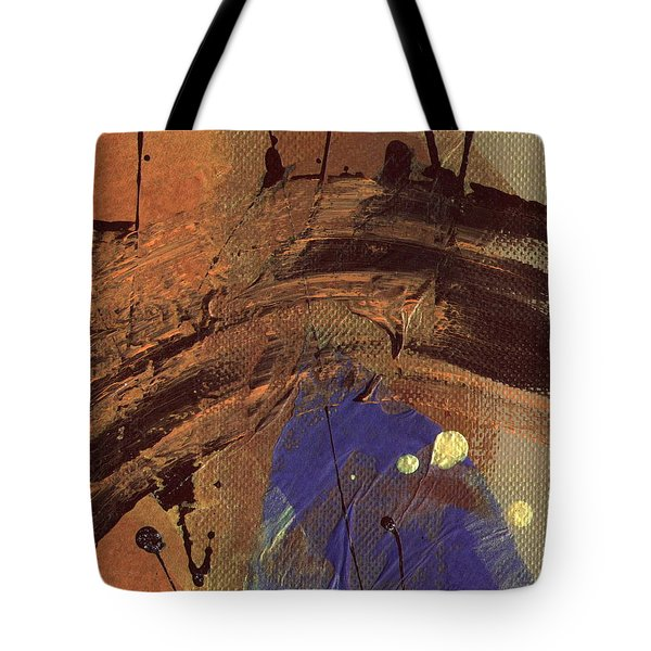 The Storm Is Passing Over Tote Bag by Angela L Walker