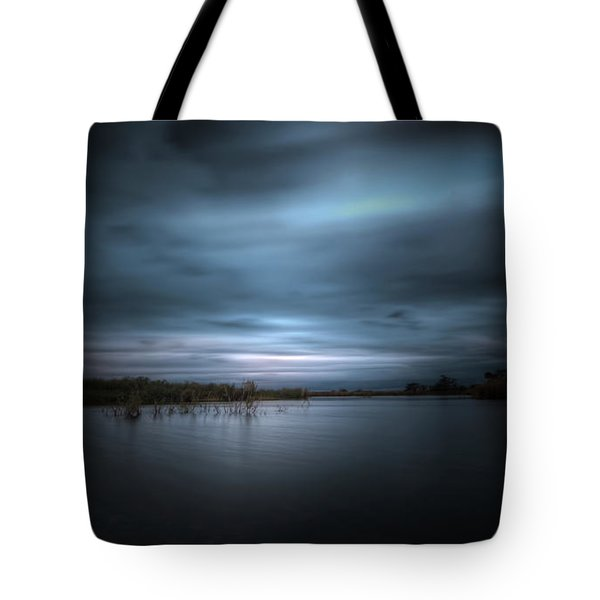 Tote Bag featuring the photograph The Storm by Mark Andrew Thomas