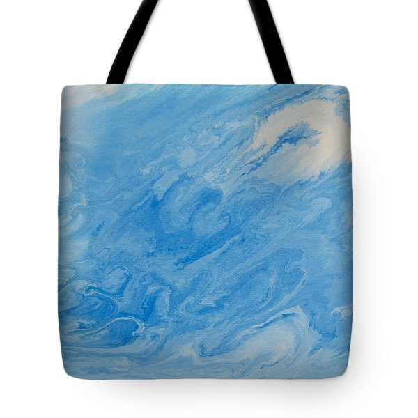 The Storm Of Neptune Tote Bag