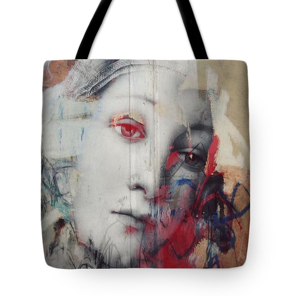 The Story In Your Eyes  Tote Bag