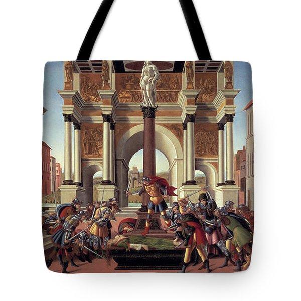 The Story Of Lucretia Tote Bag