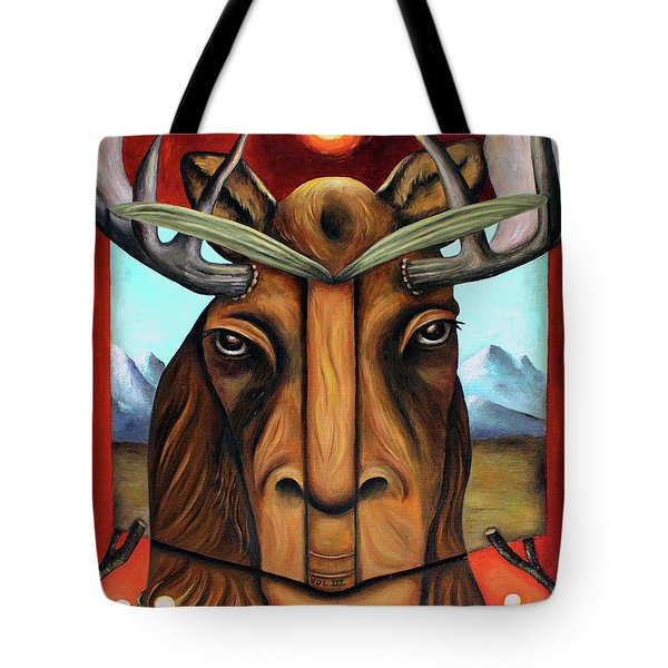 The Story Of Moose Tote Bag