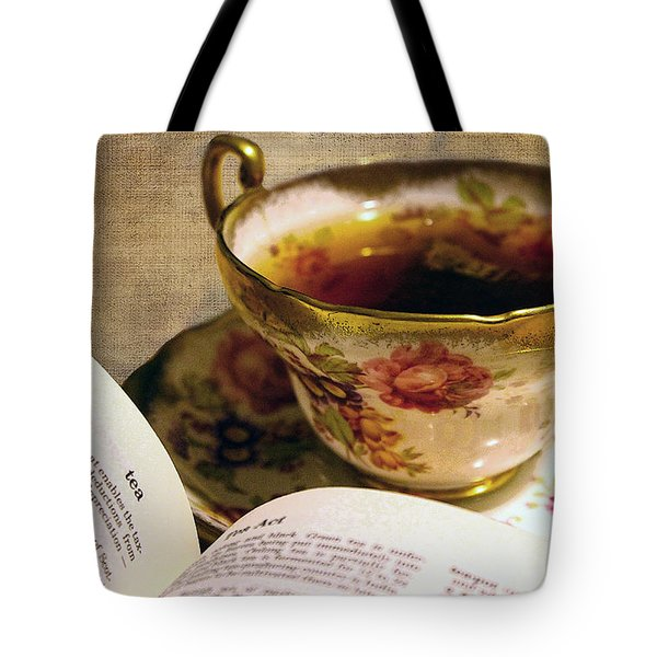 The Story Of Tea Tote Bag by Nina Silver