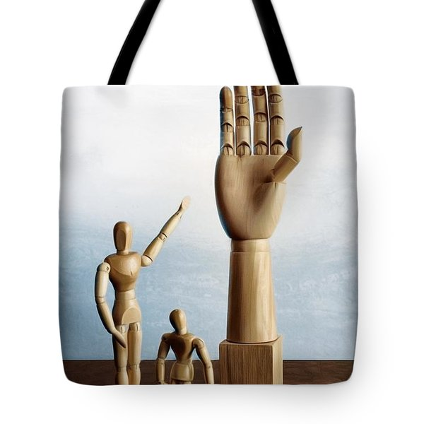 Tote Bag featuring the photograph The Story Of The Creator by Mark Fuller
