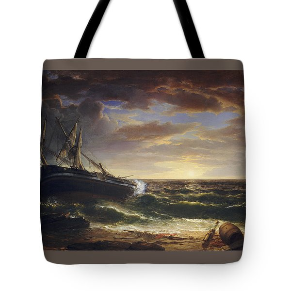 The Stranded Ship Tote Bag