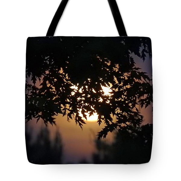 The Strawberry Moon Tote Bag