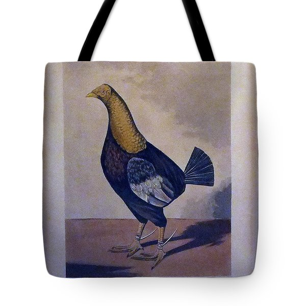 The Streaky Breasted Red Dun Champion Who Killed Three In Two Minutes Tote Bag