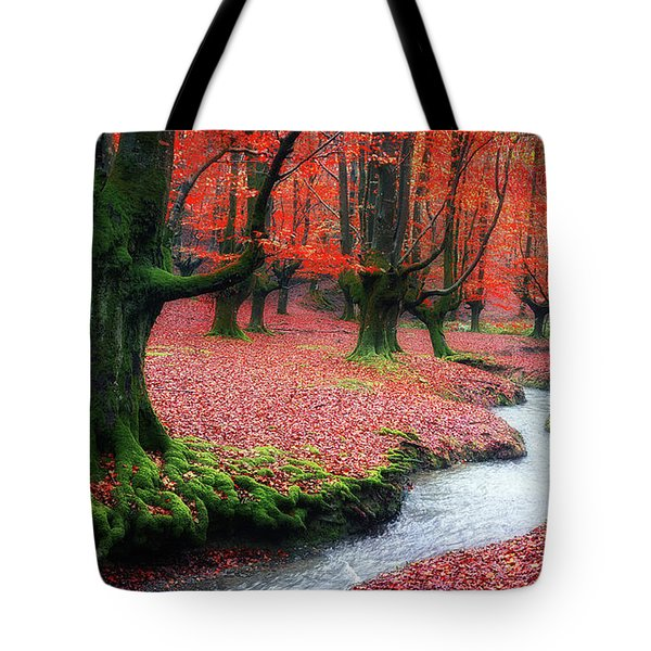 The Stream Of Life Tote Bag