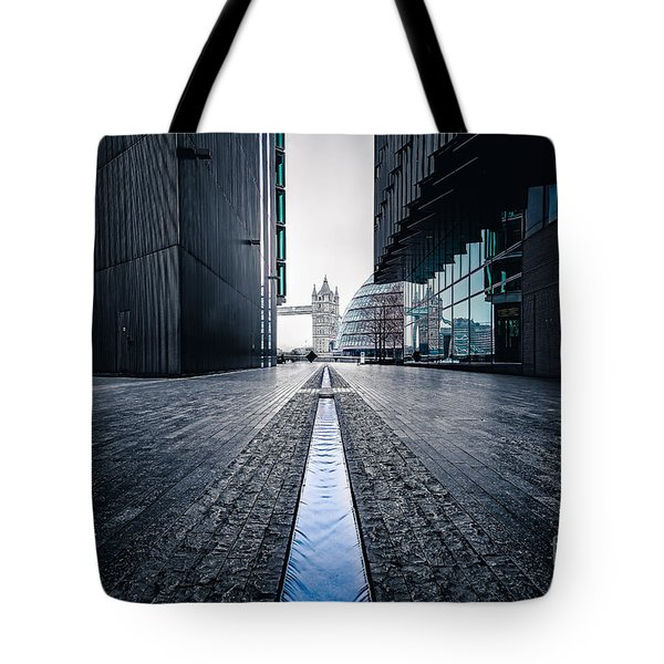 The Stream Of Time Tote Bag