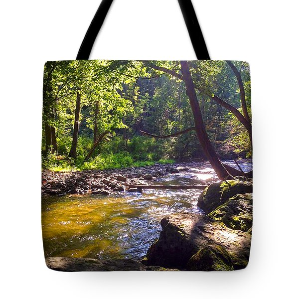 The Stream Tote Bag by Shawn Dall