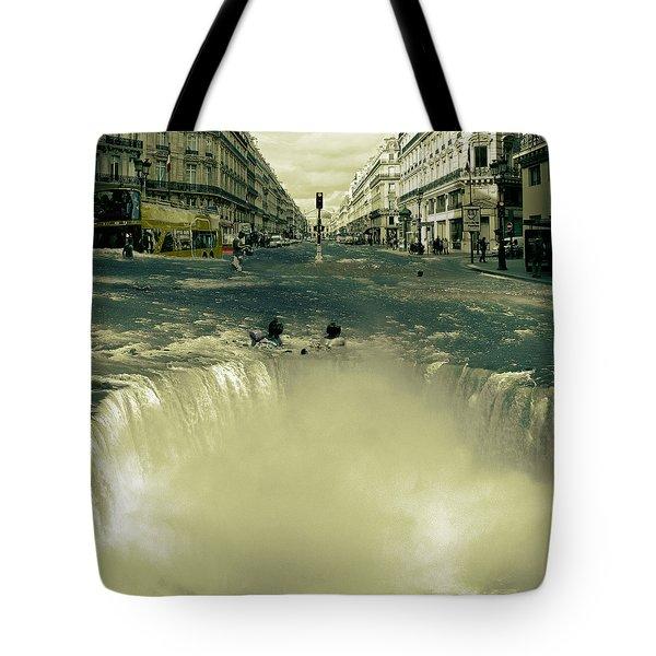 The Street Fall Tote Bag