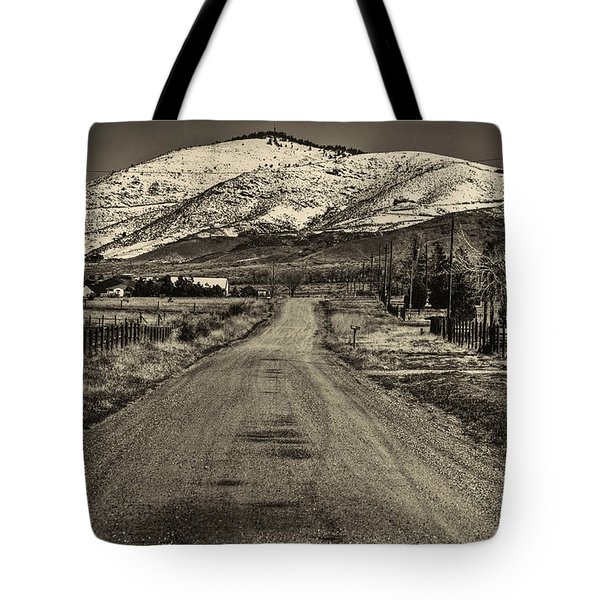 The Street Where Roo Lives Tote Bag