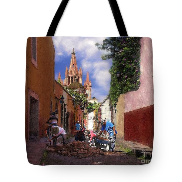The Street Workers Tote Bag