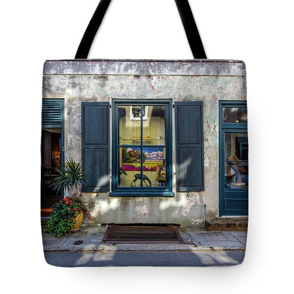 The Streets Of Charleston Tote Bag