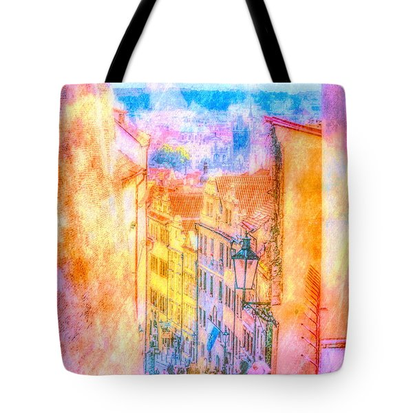 The Streets Of Prague Tote Bag