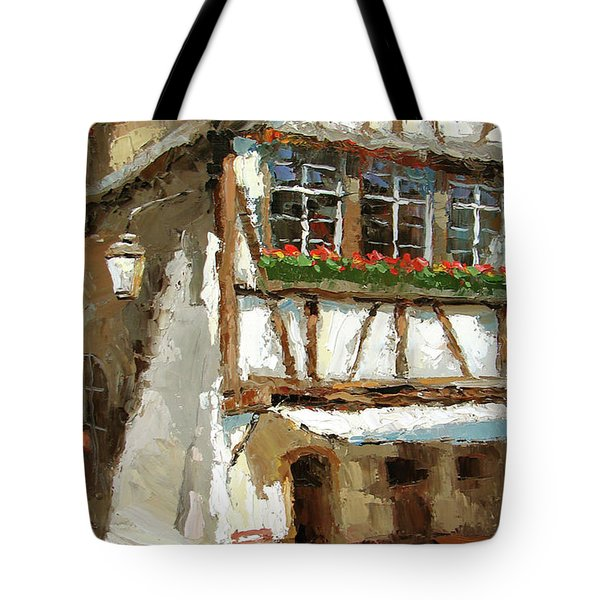 The Streets Of Strasbourg Tote Bag