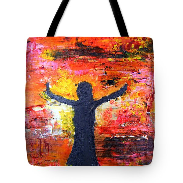 The Strength Of The Survivor 2 Tote Bag