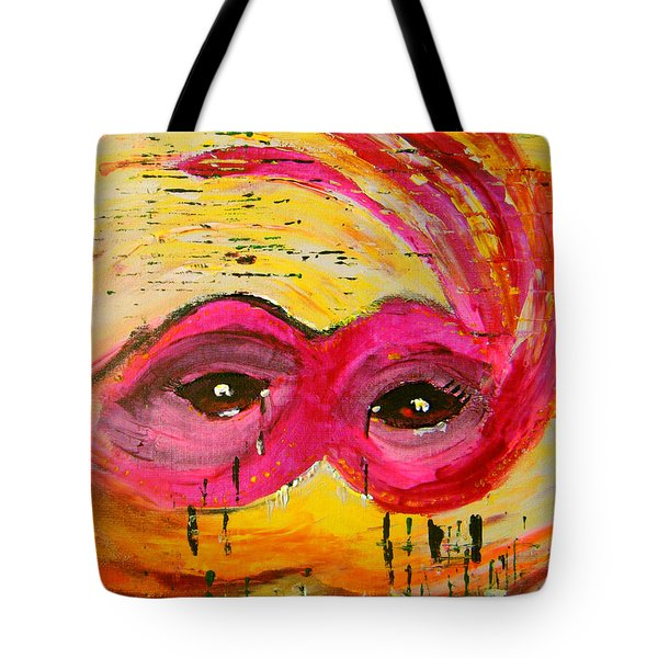 The Strength Of The Survivor 3 Tote Bag
