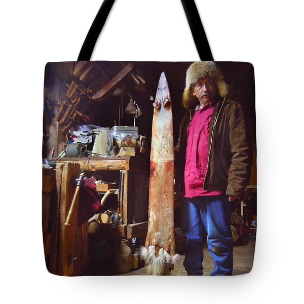 The Stretching Board Tote Bag