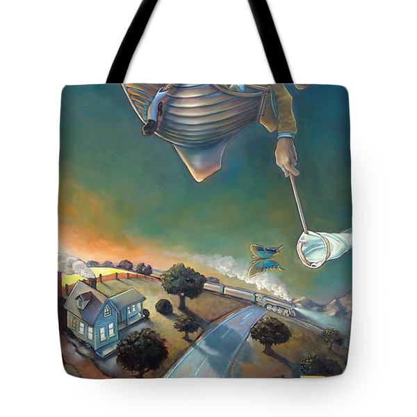 The Strife Of Wanderlust In A Dream Tote Bag by Patrick Anthony Pierson