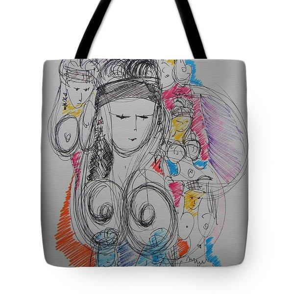 The Stripper's Mirror Tote Bag