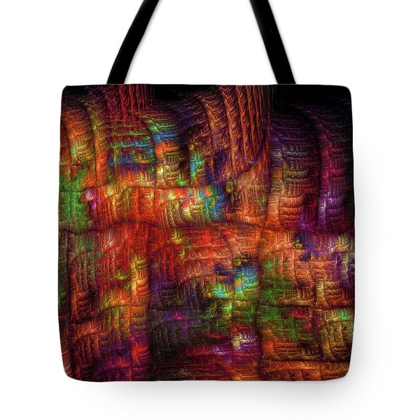 The Strong Fabric Of Dreams Tote Bag by Menega Sabidussi