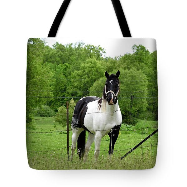 The Strong Horse Tote Bag